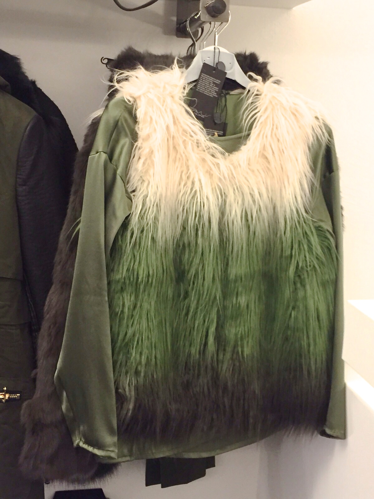 gilet_ecopelliccia_filosofy_showroom_asmileplease