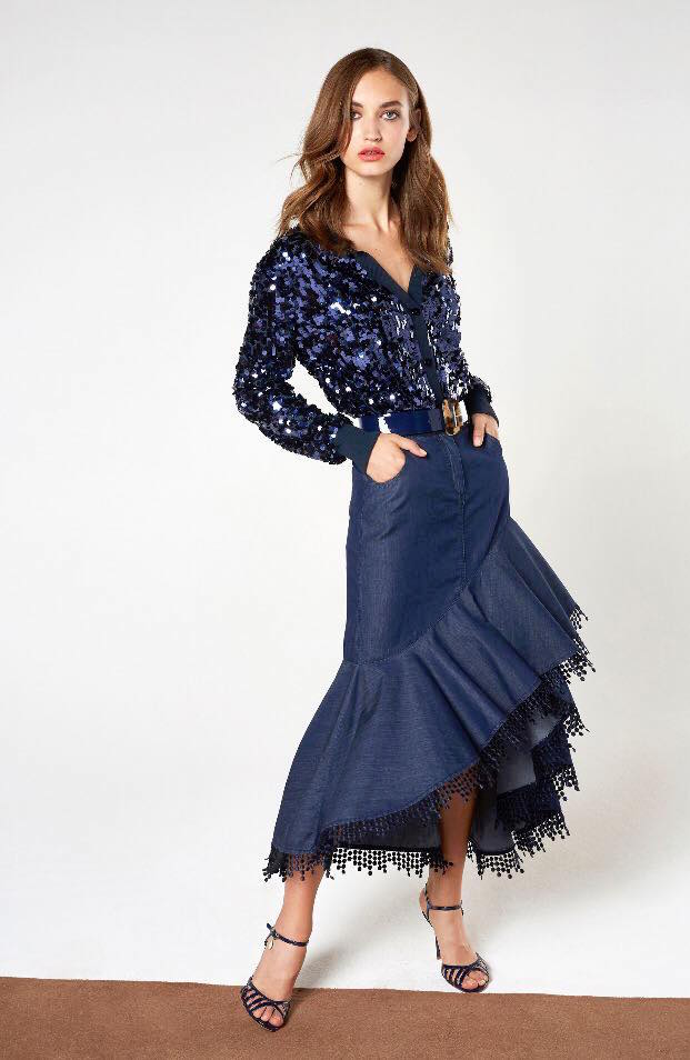 Blumarine-gonna-denim