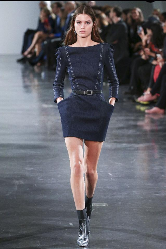 Mugler-denim